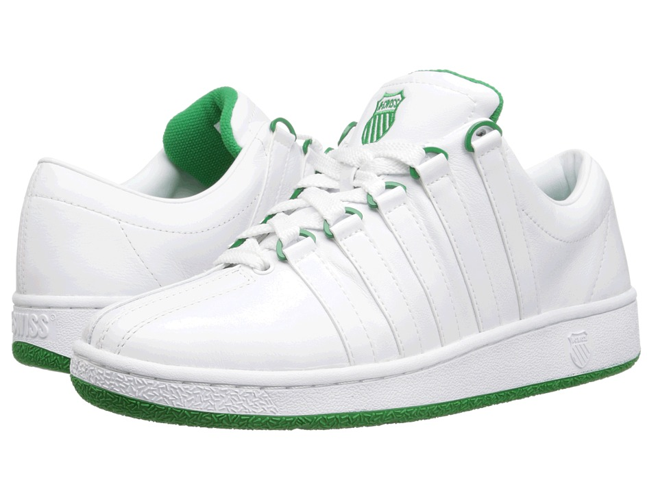 K-Swiss - Classic Luxury Edition (White/Green) Men's Shoes