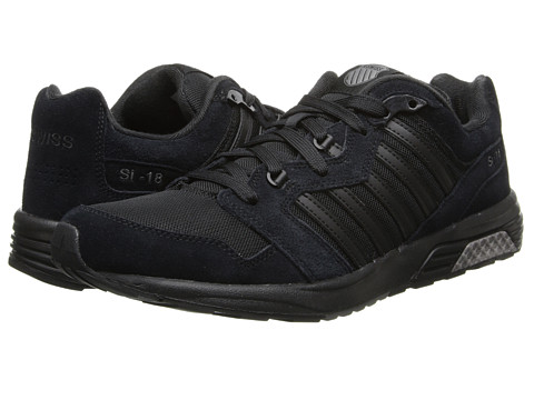 K-Swiss - SI-18 Rannell 2 (Black/Charcoal) Men's Shoes