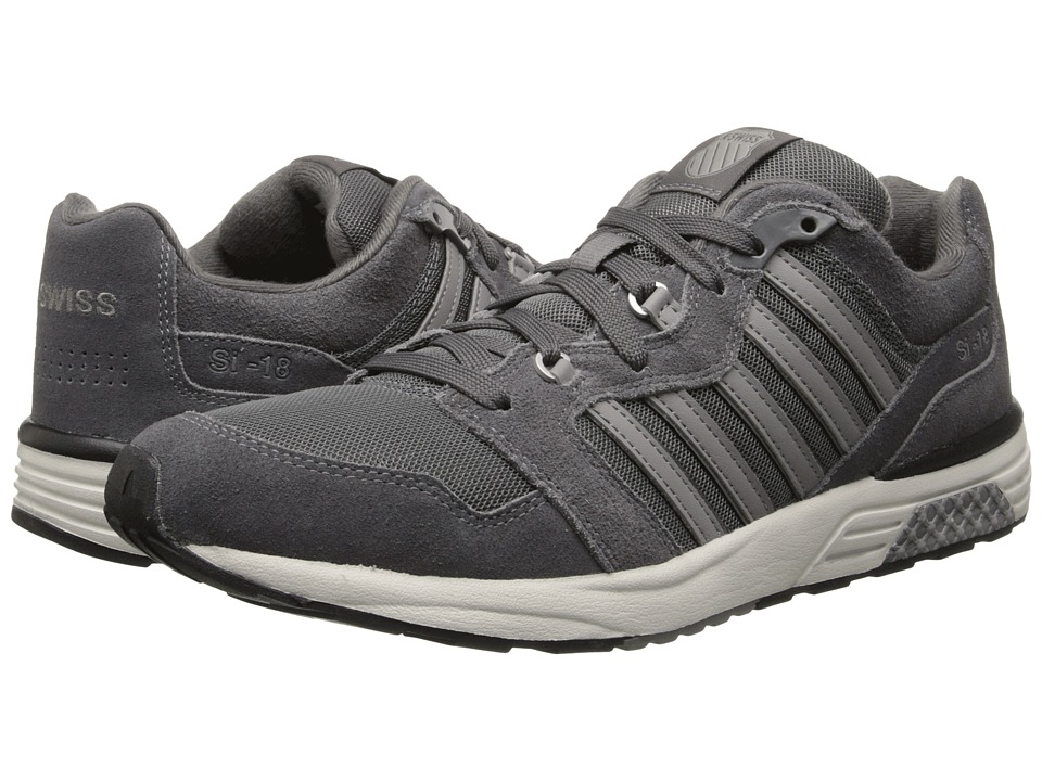 K-Swiss - SI-18 Rannell 2 (Charcoal/Bone/Stingray) Men