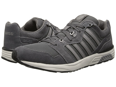K-Swiss - SI-18 Rannell 2 (Charcoal/Bone/Stingray) Men's Shoes