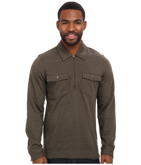 Royal Robbins - Sonora 1/2 Zip Shirt (Light Olive) Men