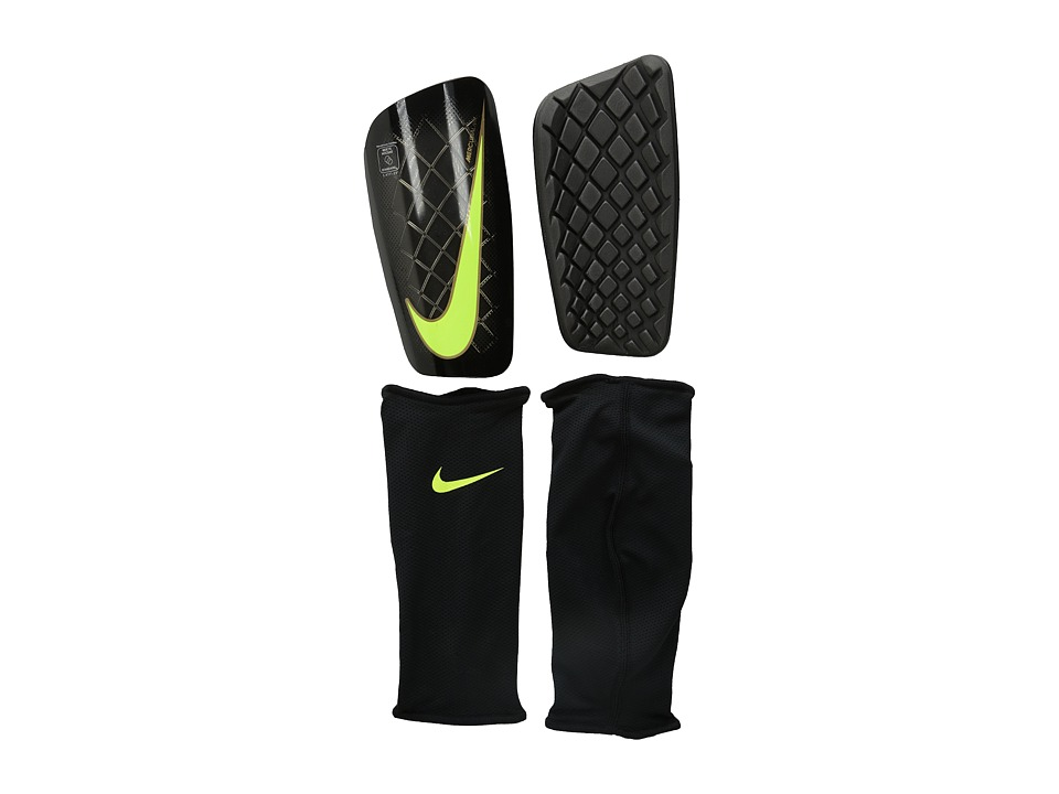 Nike - Mercurial Lite (Black/Volt) Athletic Sports Equipment