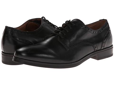 JD Fisk - Braison (Black Leather) Men's Lace up casual Shoes