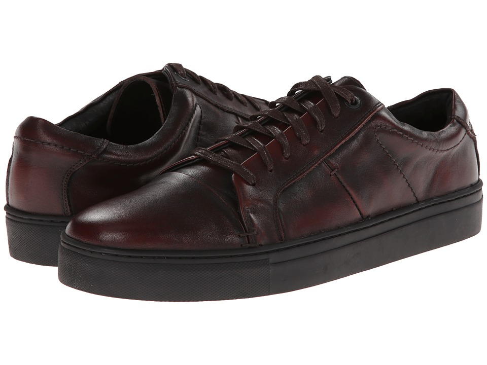 JD Fisk - Cadet (Burgundy Brushoff Leather) Men's Lace up casual Shoes