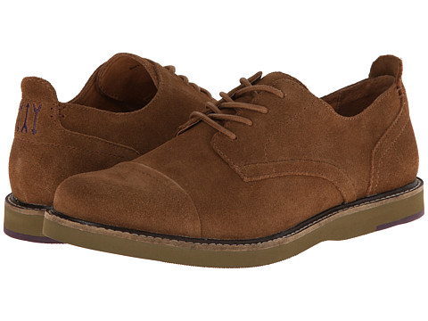 JD Fisk - Jenson (Tobacco Suede) Men's Lace up casual Shoes