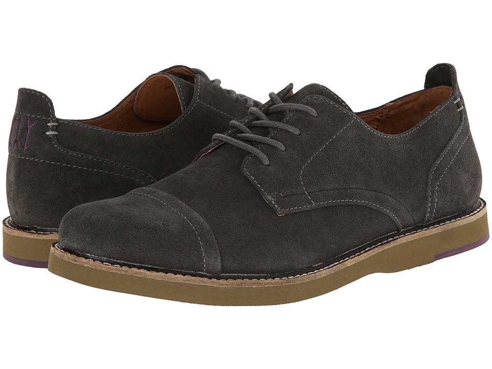 JD Fisk - Jenson (Grey Suede) Men's Lace up casual Shoes