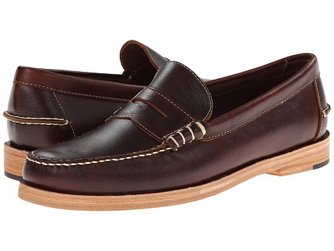 JD Fisk - Kato (Brown Leather) Men's Slip on Shoes