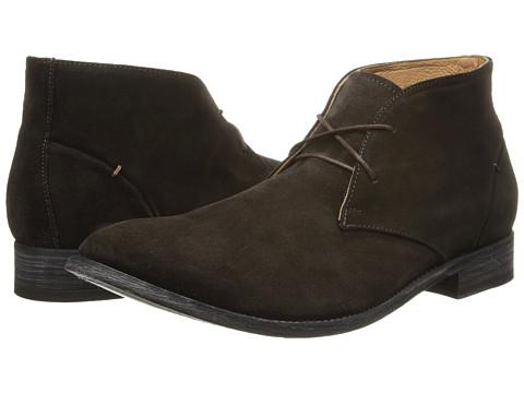 JD Fisk - Cormac (Dark Brown Suede) Men's Lace-up Boots