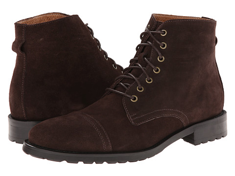 JD Fisk - Garrison (Chocolate Suede) Men's Lace-up Boots