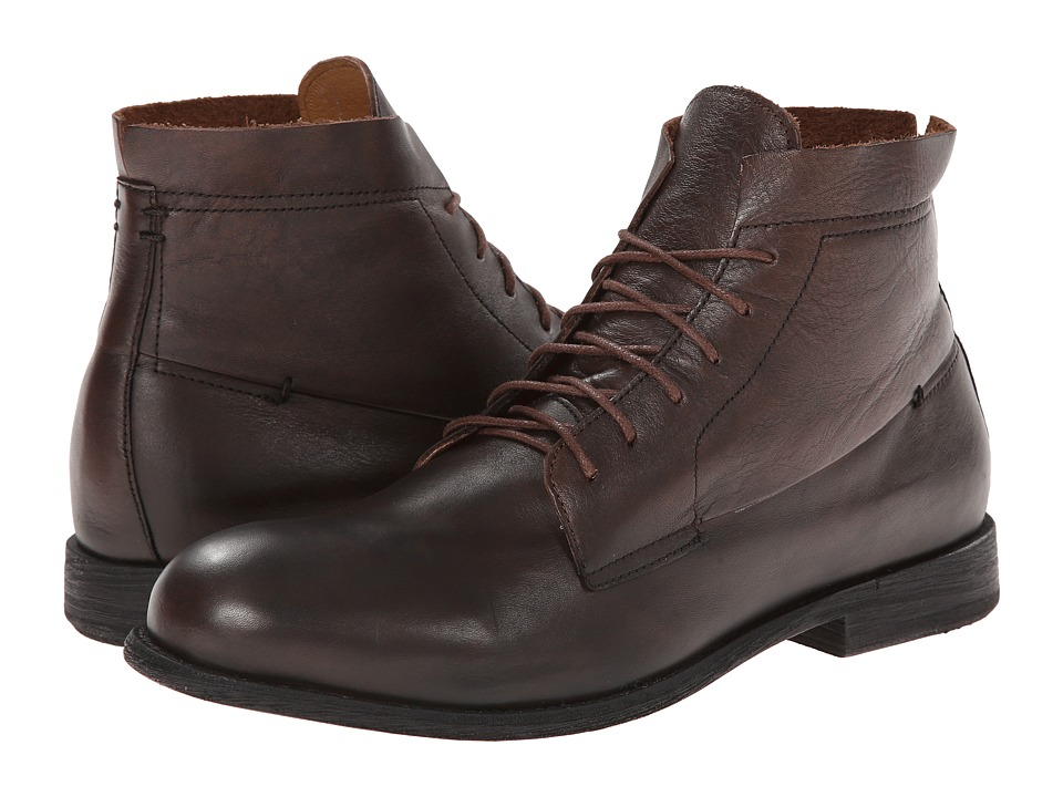 JD Fisk - Pike (Brown Leather) Men's Pull-on Boots