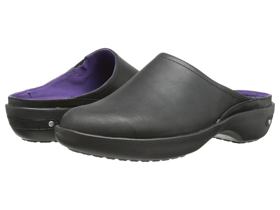 Crocs - Cobbler 2.0 Leather Clog (Black/Black) Women