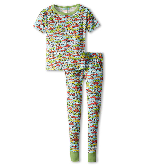 BedHead Kids - Short Sleeve Tween Snug PJ (Big Kids) (Hot Wheels Blue) Boy's Pajama Sets
