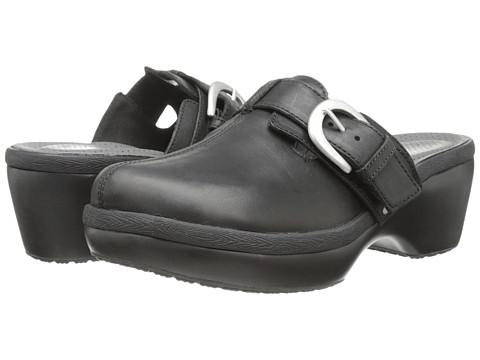 Crocs - Cobbler Buckle Clog (Black/Black) Women's Clog Shoes
