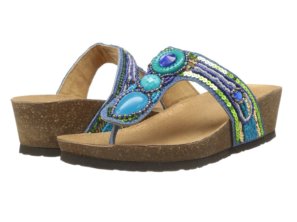 Rialto - Bara (Blue Multi) Women's Shoes