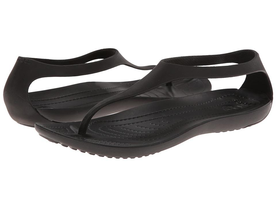 Crocs - Sexi Flip (Espresso/Espresso) Women's Sandals