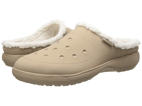 Crocs - Wrap Color Lite Lined Clog (Tumbleweed/Oatmeal) Clog Shoes