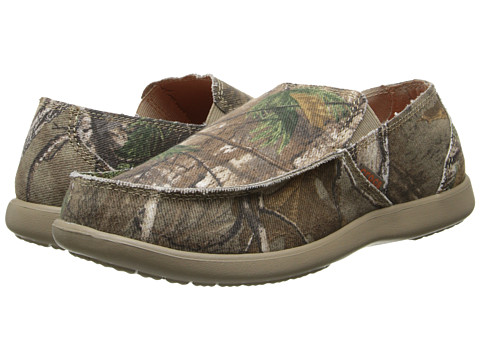 Crocs - Santa Cruz Realtree Xtra (Khaki) Men's Shoes