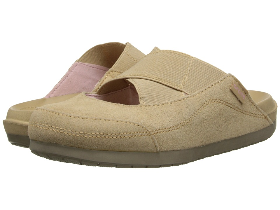 Crocs - Crocs Edie Mule (Chai/Khaki) Women's Clog Shoes