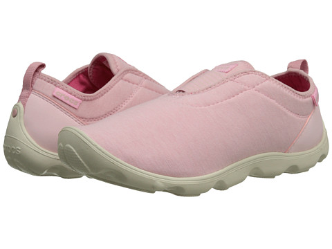 Crocs - Duet BusyDay Hthr Easy-on (Pearl Pink/Stucco) Women