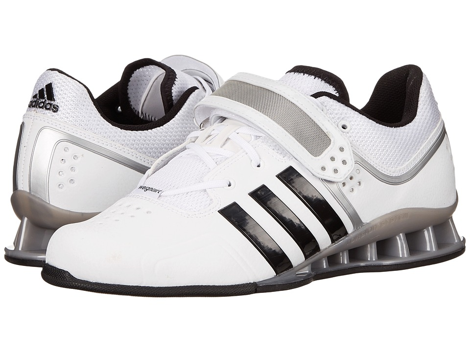 adidas - adipower Weightlift (Core White/Black/Tech Grey Metallic) Men's Shoes