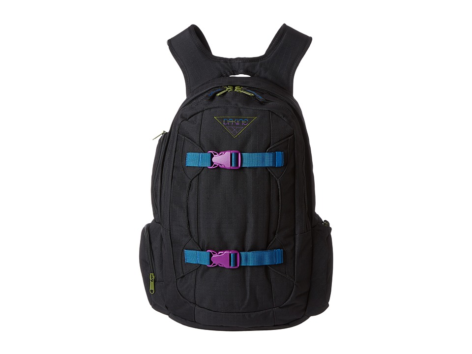 Dakine - Womens Mission 25L (Black Ripstop) Backpack Bags