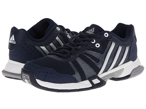 adidas - Volley Team 2 (Collegiate Navy/Grey/White) Women