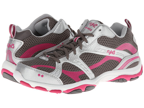 Ryka - Enhance 2 (Metallic Steel Grey/Chrome Silver/Zuma Pink) Women