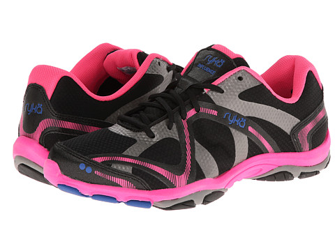 Ryka - Influence (Black/Atomic Pink/Royal Blue/Forge Grey) Women's Shoes
