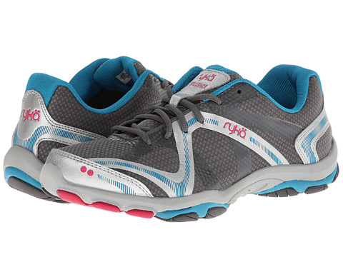 Ryka - Influence (Steel Grey/Chrome Silver/Diver Blue/Zuma Pink) Women