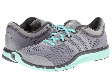 adidas - Adipure 360.2 (Grey/Solid Grey/Frost Mint) Women's Cross Training Shoes