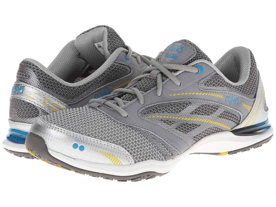 Ryka - Endure (Chrome Silver/Frost Grey/Malibu Teal/Lemon Yellow/Metallic Steel) Women