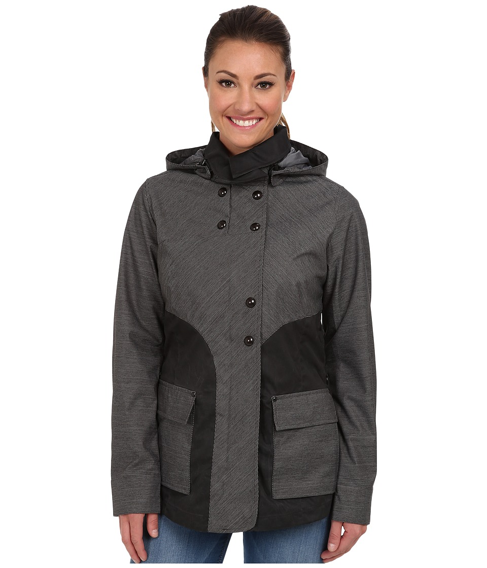 Royal Robbins - Mobilizer Trench (Jet Black) Women's Coat
