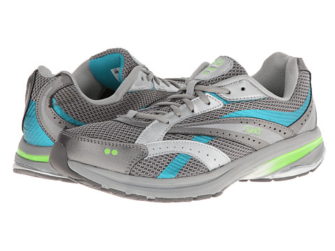 Ryka - Radiant Plus (Chrome Silver/Steel Grey/Teal Blast/Electric Lime) Women's Shoes