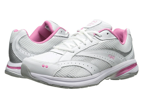 Ryka - Radiant Plus (White/Pink Mystique/Chrome Silver) Women
