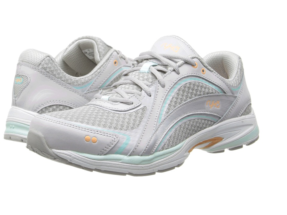 Ryka Sky Walk (Chrome Silver/Cool Mist Grey/Mint Ice/Peach Cobbler) Women