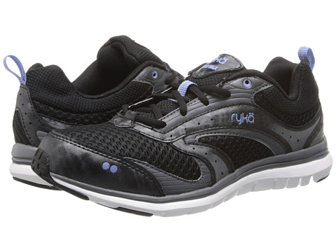 Ryka - Cloud Walk (Black/Iron Grey/Elite Blue) Women's Shoes