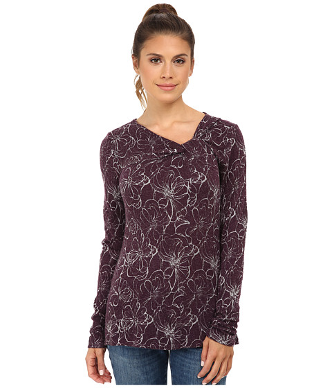 Royal Robbins - Belle Rosa Twist Neck (Blackberry) Women's Clothing