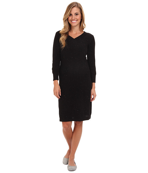Royal Robbins - Galaxy 3/4 Sleeve Dress (Jet Black) Women's Dress