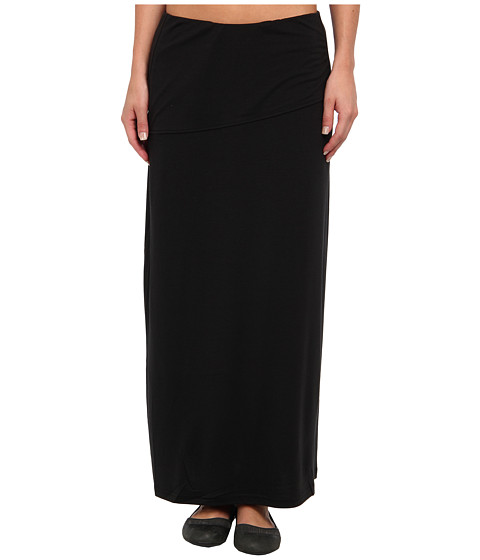 Royal Robbins - Essential Tencel Maxi Skirt (Jet Black) Women