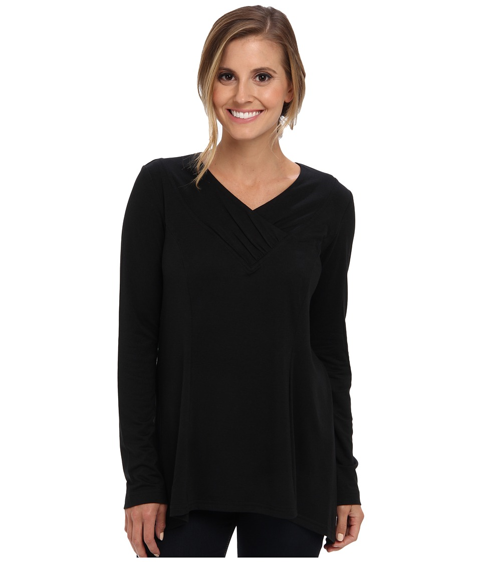 Royal Robbins - Essential Tencel Tunic (Jet Black) Women's Sweater