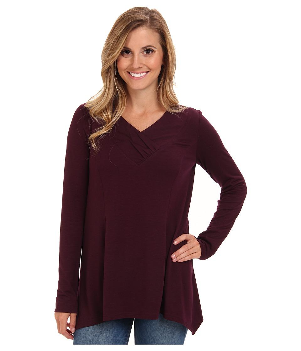 Royal Robbins - Essential Tencel Tunic (Blackberry) Women's Sweater
