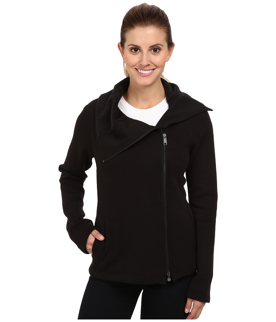 Royal Robbins - Ponte Fleece Travel Jacket (Jet Black) Women