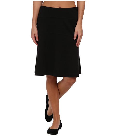 Royal Robbins - Ponte Travel Skirt (Jet Black) Women