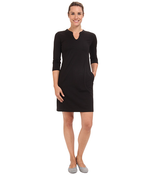 Royal Robbins - Ponte Travel Dress (Jet Black 1) Women