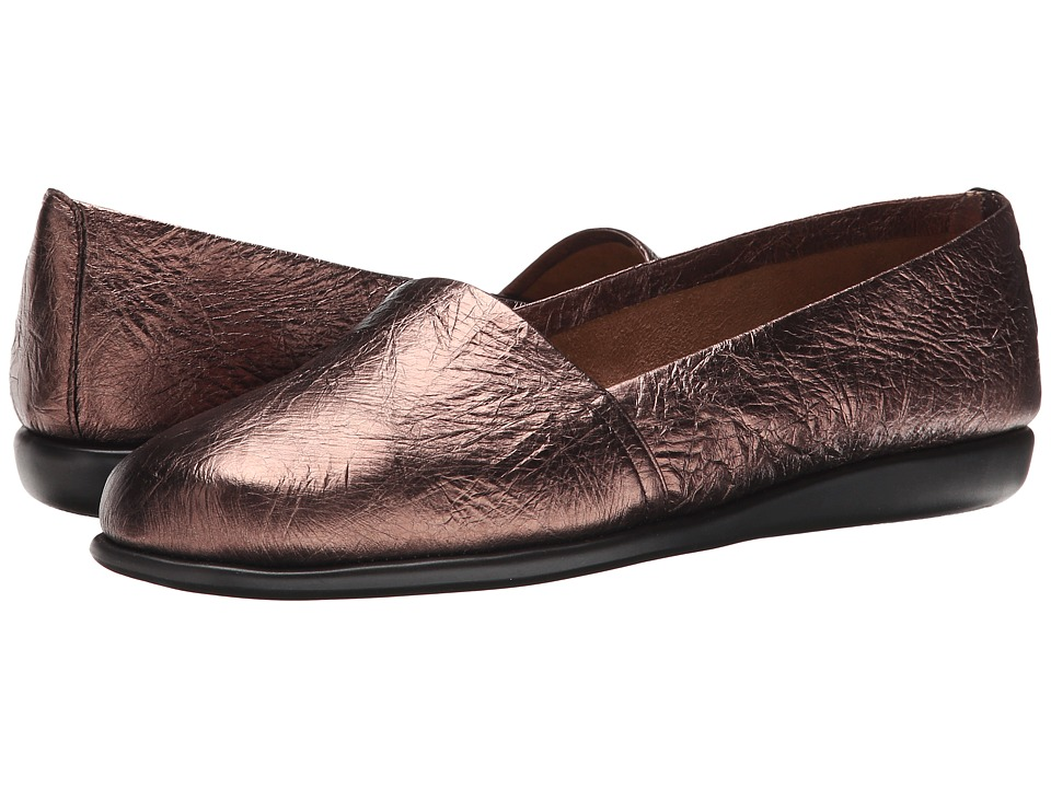 Aerosoles - Mr Softee (Bronze Combo) Women's Slip on Shoes