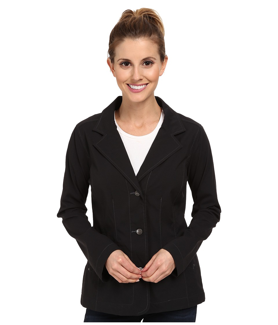 Royal Robbins - Discovery Travel Blazer (Jet Black) Women's Jacket