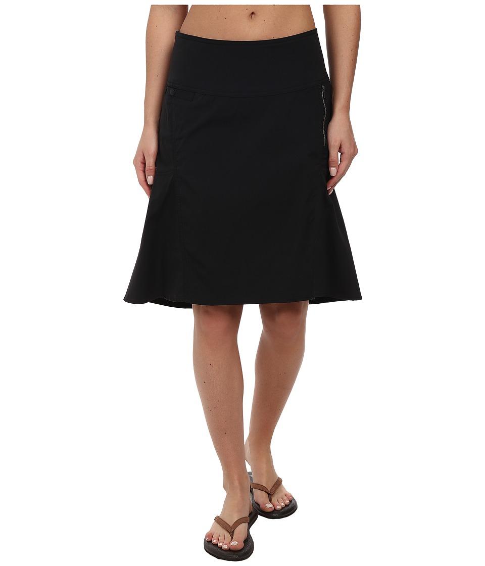 Royal Robbins - Discovery Strider Skirt (Jet Black) Women's Skirt