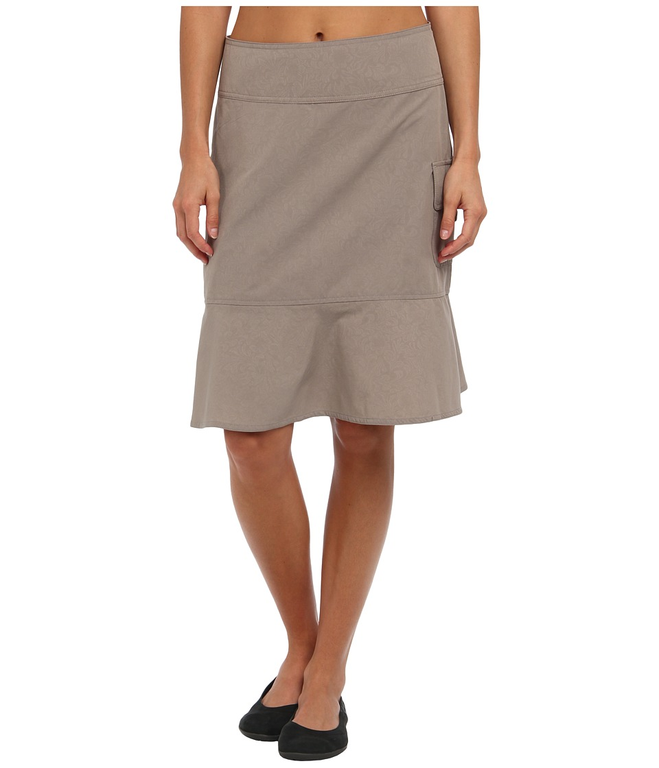 Royal Robbins - Embossed Discovery Skirt (Light Taupe) Women's Skirt