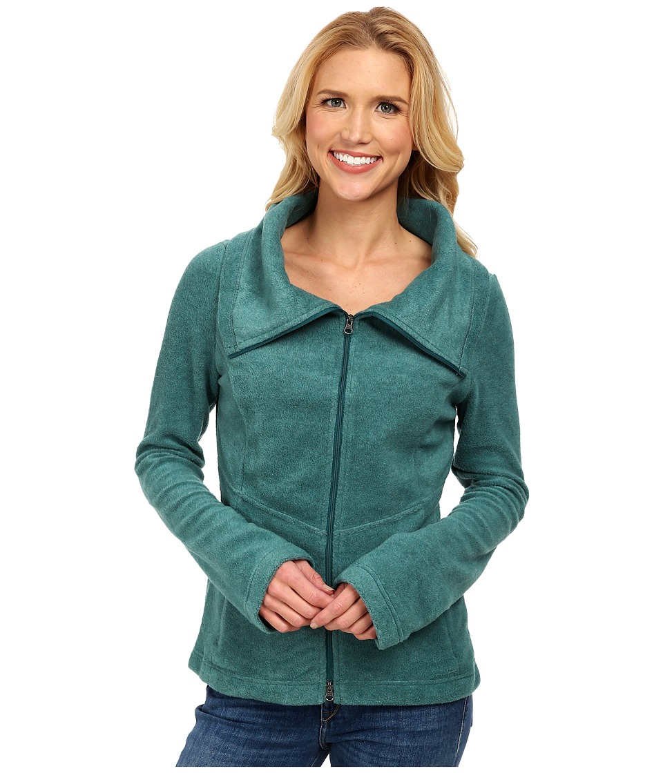 Royal Robbins - Departures Fleece Zip Up (Dark Blizzard Blue) Women's Fleece