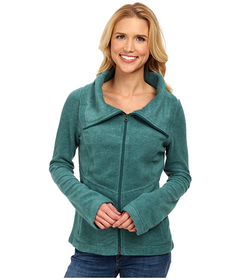 Royal Robbins - Departures Fleece Zip Up (Dark Blizzard Blue) Women